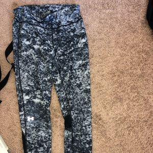 Under armour leggings with pattern!